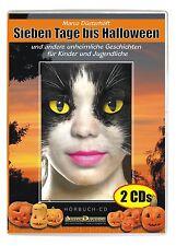 Sieben Tage bis Halloween-Unheimliche Geschichten für Kinder ab 6 Jahren Hörbuch