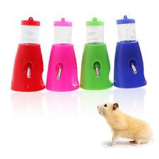2 en 1 hamster bouteille d'eau titulaire distributeur avec base hut small animal nid jouet