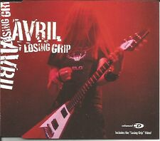 AVRIL LAVIGNE Losing Grip w/ LOSING & NAKED LIVE TRX EUROPE CD single USA Seller