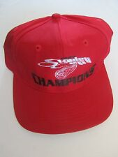Vintage Detroit Red Wings 1997 Stanley Cup Champions Hat Cap Hockey  Rare