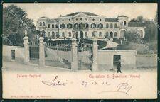 Verona Bovolone Palazzo Gagliardi cartolina VK0191