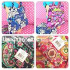 NEW Vera Bradley Curvy Tote Bag Purse Slip Pockets Free Ship $68 NWT ~ CHOOSE!