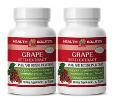 GRAPE SEED EXTRACT 100mg Pure grape seed extract - Improve Eye Vision 2 Bottles