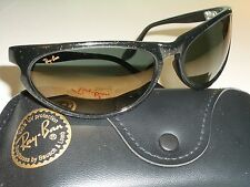VINTAGE B&L RAY BAN W2352 GOLDEN FLASH GLITTERED G15 SKYLINE WRAPs SUNGLASSES