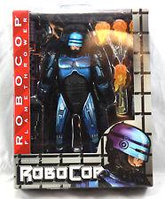 """NECA SNES Video Game Series 7"""" Robocop VS Terminator Robocop w/ Flamethrower New"""