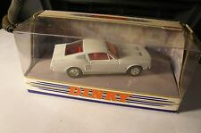 DINKY WHITE 1967 FORD MUSTANG FAST BACK  DY-16-B