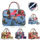 Ladies Oversized Maternity Weekend Floral Overnight Bag Travel Hand Luggage