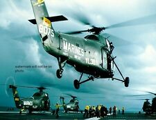 "Sikorsky UH-34D Helicopters USS Princeton 8""x 10"" Vietnam War Photo 73"