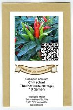 Chili - Thai hot - scharf - 10 Samen