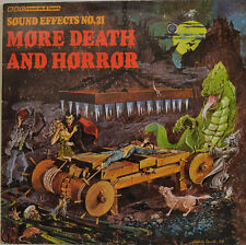 "SOUND EFFECTS NO.21 - MORE DEATH AND HORROR 12"" LP  (W 664)"