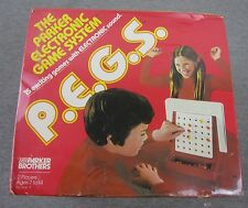 NEW Vintage Parker Brothers P.E.G.S Pegs Electronic Game System SEALED 1978 RARE