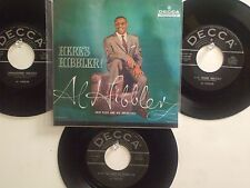 LOT OF 4 ' AL HIBBLER ' HIT 45's+P(Copy)[Unchained Melody]      THE 50's!