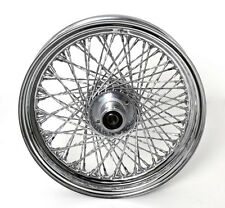 "80 TWISTED SPOKE 16"" FRONT WHEEL 16 X 3 HARLEY SOFTAIL FLST FLSTC HERITAGE 86-99"