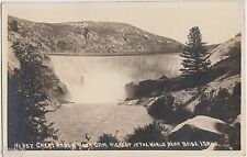 1924 BOISE Idaho ID RPPC Postcard GREAT ARROW ROCK DAM Highest in World