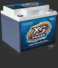 XS Power D1200 Deep Cycle 12 Volt 12V AGM Power Cell Battery 2600 amps 44 AH