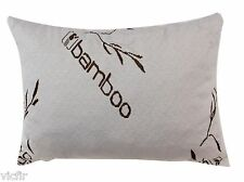 Bamboo Covered Shredded Memory Foam Pillow,100% Washable,Standard,USA Made