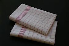 15  Stück Geschirrtücher  100% Baumw. ROT -95 Grad Wäsche  50 x 70 cm