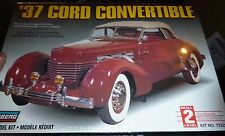 LINDBERG 1937 CORD CONVERTIBLE 1/25 Model Car Mountain KIT FS