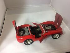 Burago 1957 Ferrari 250 Testa Rossa 1:18 Scale Die Cast Model Car Made in Italy