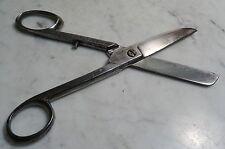 Antike handgefertigte Werkzeug Schere geschmiedete Tuchschere Stoffschere