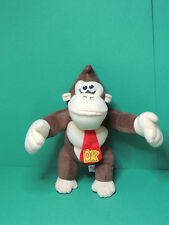 Donkey Kong official Nintendo 2009 Super Mario peluche 28cm plush soft toy