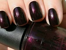 OPI Nail Polish BLACK CHERRY CHUTNEY royal rich purple red shimmer lacquer