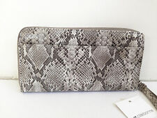 LOW BID! Authentic LIZ CLAIBORNE Zip Around Clutch Wallet Wristlet Snake $22