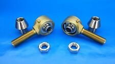 3/4 x 9/16 Bore Chromoly Panhard Rod Ends, Heim Joints (Bung 1-1/4 x .120) Flex