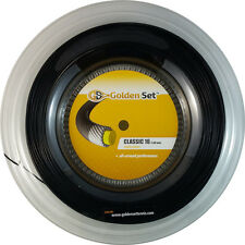 GSI Classic 16 black tennis string - 660' Reel