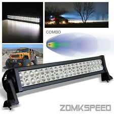 "21.5"" 120W Off Road 40 Super Bright LED Light Bar Roof/Bumper/Grill/Work Lamp"