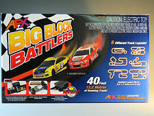 AFX TOMY HO SLOTCAR BIG BLOCK BATTLERS RACE SET MEGA G PLUS slot car AFX 21004