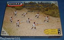 Emhar 7215 Napoleónicas Español Infantería-Península De Guerra. 1:72 plástico de escala