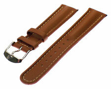 WATCH - STRAP FIT FOR CAMEL TROPHY WATCH BAND STRAP 20 MM BROWN NEW