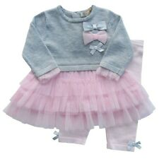Beautiful Baby Knitted Tutu 2 Piece Outfit Set Romany Style by Zip Zap 3 months