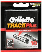 Gillette Trac II Plus Cartridges 10 Each (Pack of 2)