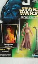 Star Wars Power of the Force Princess Leia Organa as Jabba's Prisoner NIB