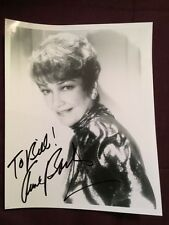Anne Baxter All About Eve Ten Commandments Actor Autographed Signed Photo