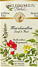 Marshmallow Leaf and Root Tea, Celebration Herbals, 24 tea bag 1 pack