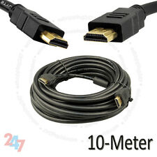 Gold Plated 10 Meter HDMI V1.4 (19Pin) Male to Male HD 1080P Cable S247