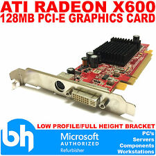 ATI Radeon X600 128MB PCI-E DVI Graphics Card 0H9142 109-A26030-01 FH Bracket