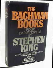 THE BACHMAN BOOKS Four Early Novels by STEPHEN KING HCDJ - BCE