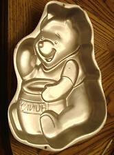 ✿ Winnie the Pooh Wilton Cake Pan Disney Teddy Bear Honey Hunny Pot Baking Mold