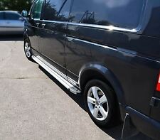 2004 - 2015 Volkswagen VW Transporter T5 Aluminium LWB Side Running Boards