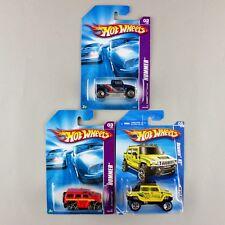 Hot Wheels HUMMER H3T CONCEPT, H3 & H2 BUNDLE 2007 Hummer Series/2010 City Works