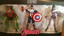 Hasbro Marvel Legends AVENGERS TRU   3 PACK SAM WILSON/VISION/KATE BISHOP 6""