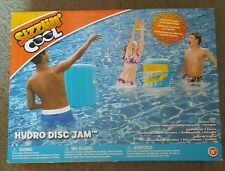 Brand New Sizzlin' Cool Hydro Disc Jam Pool Game Water Fun Inflatable Swimming