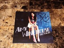 Amy Winehouse Rare Authentic Hand Signed CD Book Booklet Autographed Pop Star