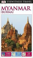 DK Eyewitness Travel Guide: Myanmar (Burma)-ExLibrary