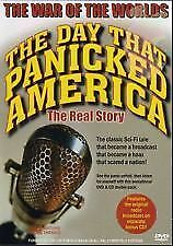 THE WAR OF THE WORLDS THE DAY THAT PANICKED AMERICA DVD AND CD SET BRAND NEW!