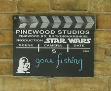 Star Wars Movie Action Board - Film Clapper Board - BlackBoard - Ideal Gift